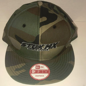 Stuk Mx Graphix New Era 9 Fifty Snap Back Camo Hat